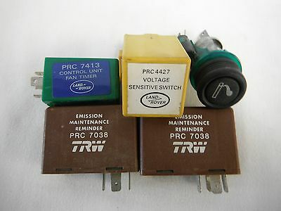 1989 Land Rover Voltage Sensitive Switch PRC 4427 And Cigarette Lighter 3 Others