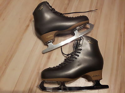 Men's professional figure skating boots with blades size 285mm