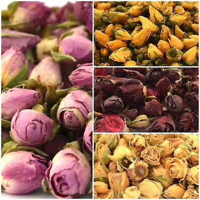 Edible Rose Petals, Dried Rose Buds, Rose Flowers, Craft, Soap Candle Cake Decor