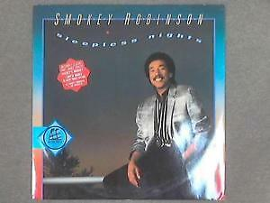 "Smokey Robinson (12"" Vinyl Single P/S) Sleepless Nights-Motown-ZT 40718-UK-1985"