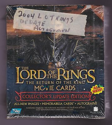 2004 Topps The LORD of the RINGS - Return of the King Movie Cards Update Box