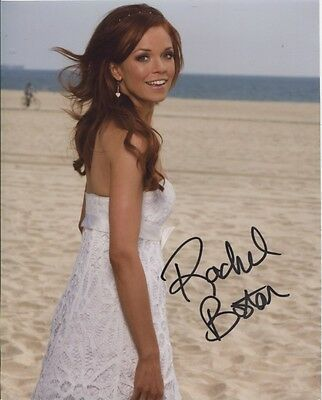 Rachel Boston In Person Signed Photo - B584