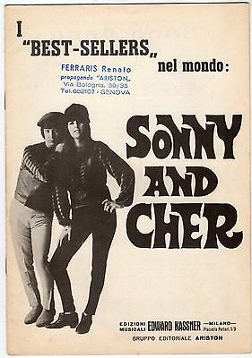 spartito Musicale I BEST- SELLERS NEL MONDO: SONNY AND CHER 1966