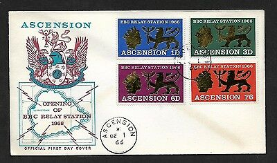 (111cents) Ascension 1966 Opening of BBC Relay Station 1966