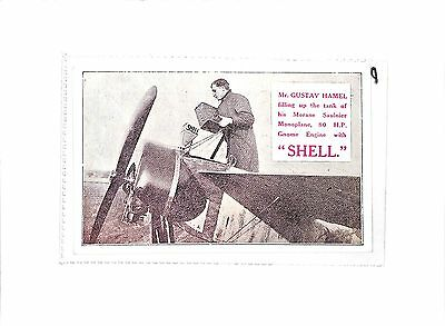 P806 Shell Advertising Automotive Gustav Hamel