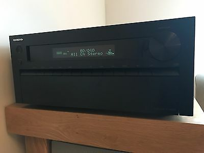 ONKYO TX-NR818 7.2 Channel 135 Watt AV Receiver