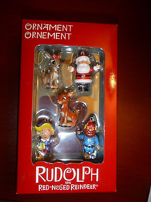 "Rudolph the Red Nosed Reindeer  ""Mini Set""  American Greetings 2009 ornament"