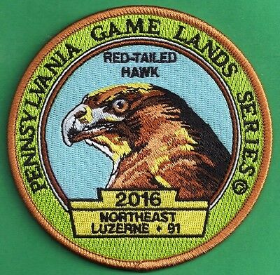 Pa Pennsylvania Game Commission 2016 Wilderness Edition Game Lands 91 Hawk Patch