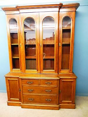 Antique Victorian Mahogany Country House Library Bookcase Circa 1860-1880