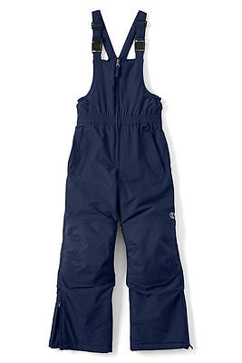 Lands End Kids Squall Bibs Snow Pants Navy Size 10