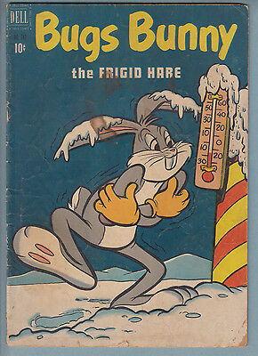 (Four Color) Bugs Bunny 347 GD (1951) Dell Comic