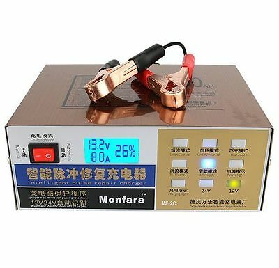 Battery Charger Intelligent Pulse Repair Type Battery Charger 12V/24V 100AH