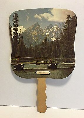 Vintage Cardboard Hand Fan - Advertising – Illinois Funeral Home