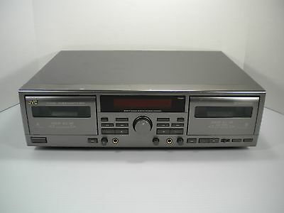 JVC TD-W309 Dual Cassette Player and Recorder - Tested - Fast Free Shipping!!!