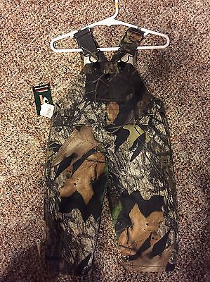 Infants 12 Month Camouflage Overalls By Cut Off Creek Mossy Oak
