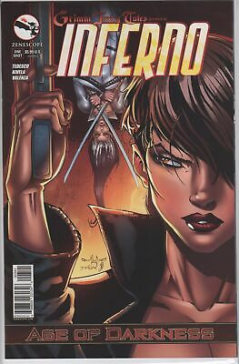 GFT INFERNO RINGS OF HELL #2 Cover E 1//350 NM Zenescope Comic Vault 35