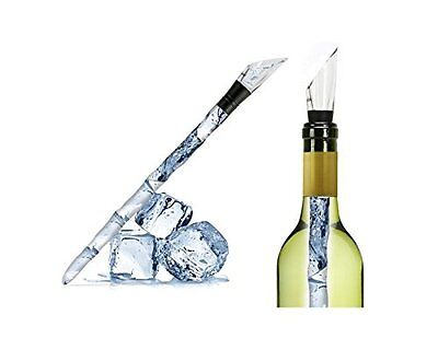 Icicle Wine Bottle Cooler Stick Pourer Aerator