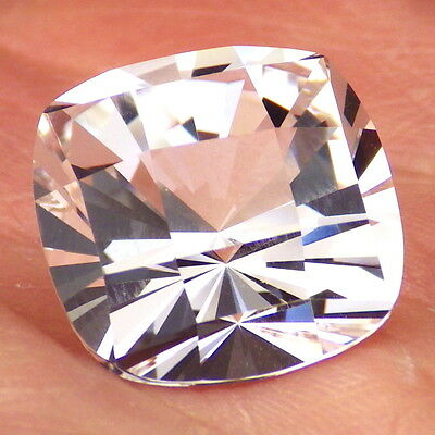 DANBURITE-MEXICO 13.32Ct FLAWLESS-LARGE-PERFECT FOR JEWELRY-GERMAN CUT!