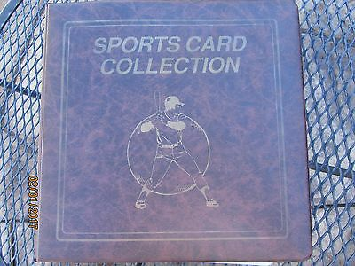 "Sports Card / Trading Card 3"" 3-Ring Binder Album w/ 65+ Ultra Pro Pages"