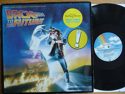 Back To The Future - Music From The Motion Picture Soundtrack LP