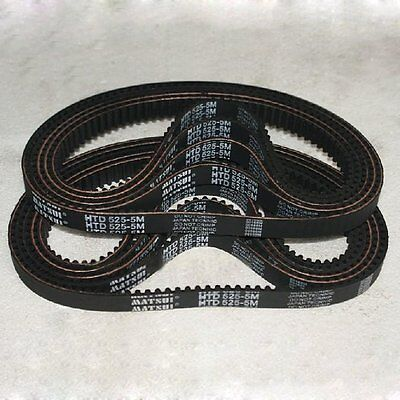 HTD 5M-550 Synchronous Wheel Close Loop Timing Pulley Belt 15/20/25/30mm Width