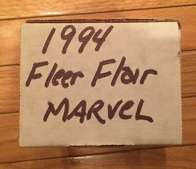 1994 Fleer Flair Marvel Complete 150 Card Set - ALL NM/M Near Mint / Mint