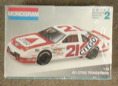 old Monogram NASCAR model # 21 CITGO Thunderbird Morgan Shepard 2961