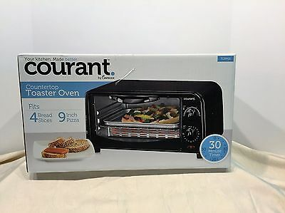 NIP - Courant TO9M1K Countertop Toaster Oven  New in Box Never Opened!