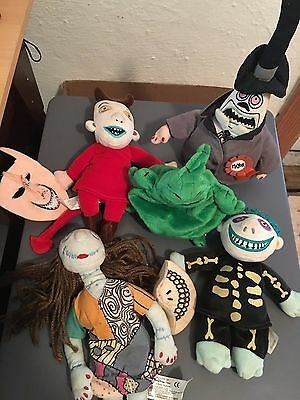 Nightmare Before Christmas Plushies - Set of 5