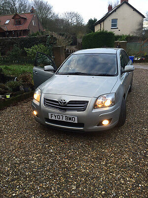 2007 Toyota Avensis D-4D T180 Silver