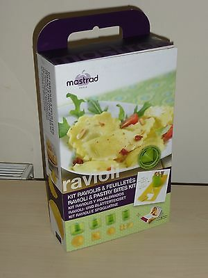 Mastrad Ravioli & Pastry Bites Kit - New in Sealed Box