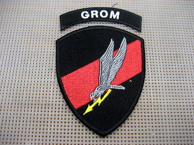 Poland Polish Army Patch Special Forces GROM