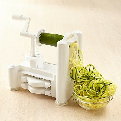 NEW Spiralizer With Stainless Steel Blades