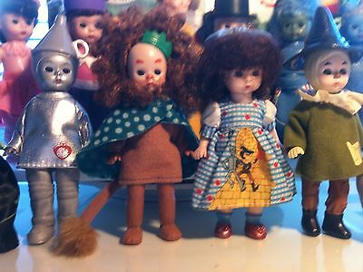 Complete Set of 12 Madame Alexander Wizard of Oz 2008 McDonald's Dolls Excellant