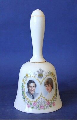 Charles & Diana Wedding Bell. Crown Staffordshire.