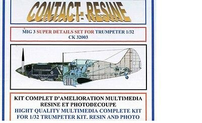 Set de super-détaillage pour MIG 3  - Set CONTACT RESINE 1/32 n° CK32003