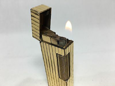 Dunhill Cigarette Gas Gold Lighter Very good condition L1028011