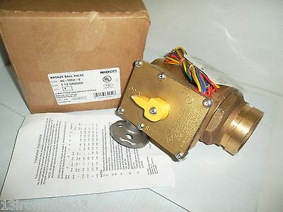 """NEW NIBCO KG-505W-8 2-1/2"""" GROOVED (Victaulic Type) BRONZE BALL VALVE FM NIB"""