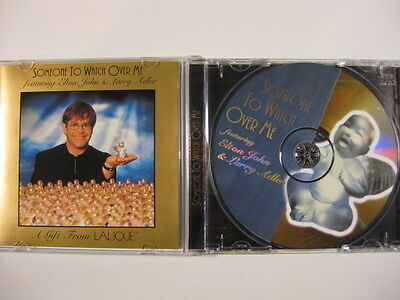 Elton John Someone To Watch Over Me Lalique gift CD Larry Adler RARE