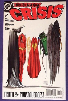 IDENTITY CRISIS 7 February 2005 9.4-9.6 NM/NM+ DC COMICS MICHAEL TURNER COVER!!!