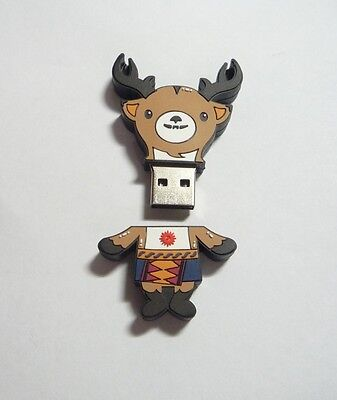 2018 ASIAN GAMES Official Mascot 15GB Thumb Drive ATUNG Deer Promo INDONESIA