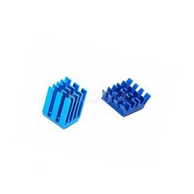 Hot! Aluminium Cooling Heatsink Kit for Raspberry Pi B+ B Raspberry Pi 3