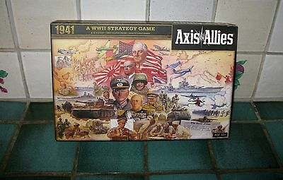 Axis & Allies Game 1941 (Complete/unplayed)