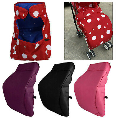 Universal Warm Baby Stroller Windshield Cover Pram Buggy Pushchair Foot Muff