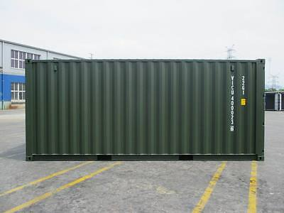 20 Foot New One Trips In Rl 6007 Green- Dorset Depot Now