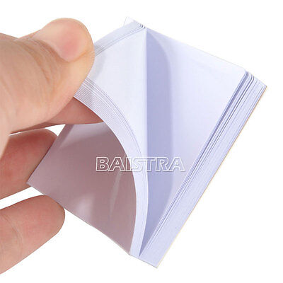 10 Pads Dental Disposable mixing Sheets 2 sides Paper 5.1 x 5.1cm (2x2 inch) #S