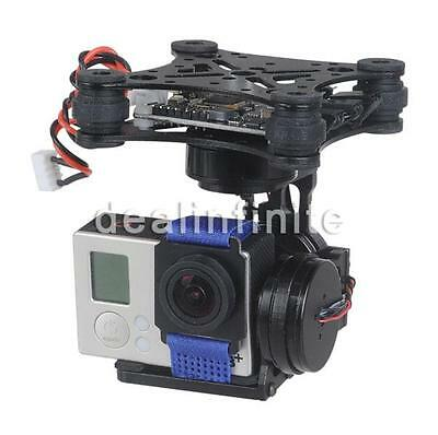 3Axis Brushless Gimbal Camera Mount with 32bit Storm32 Controller for Gopro wr