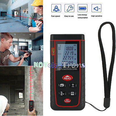 Digital Laser Distance Meter Range Finder Measure Test Tape Diastimeter 40m131ft