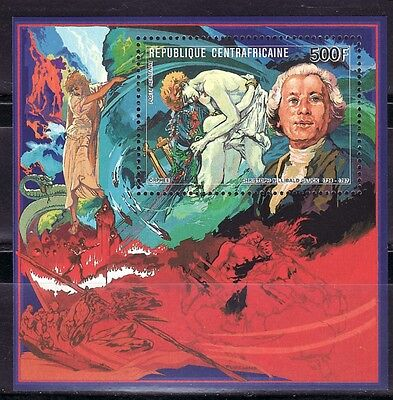 Sellos Arte Musica Centroafrica Christoph Willians. Orfeo Hb 92