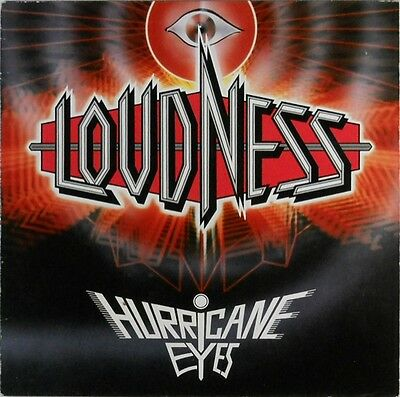 "Loudness ""Hurricane Eyes"" Lp"